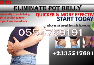 Get rid of pot belly naturally