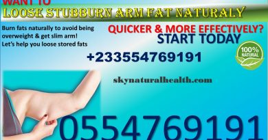 Get rid of arm fats naturally